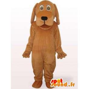 Hond kostuum met een groot hoofd - vermommen gevulde hond - MASFR00923 - Dog Mascottes