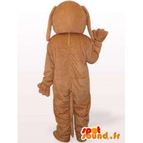 Koira puku iso pää - Naamioi täytetyt koiran - MASFR00923 - koira Maskotteja