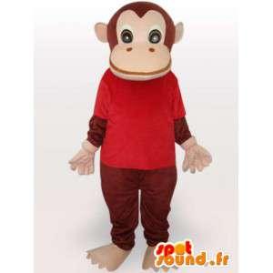 Costume de chimpanzé habillé - Déguisement de singe