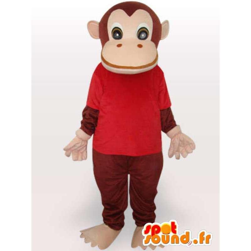 Kostüm gekleidet Schimpansen - Affen-Kostüm - MASFR001071 - Maskottchen monkey