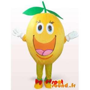 Costume de citron joyeux - Déguisement de citron toutes tailles - MASFR001109 - Mascotte de fruits