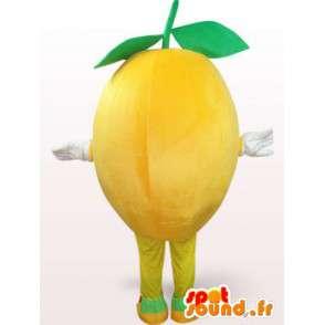 Šťastný Lemon Kostým - Lemon Dressing všech velikostí - MASFR001109 - fruit Maskot