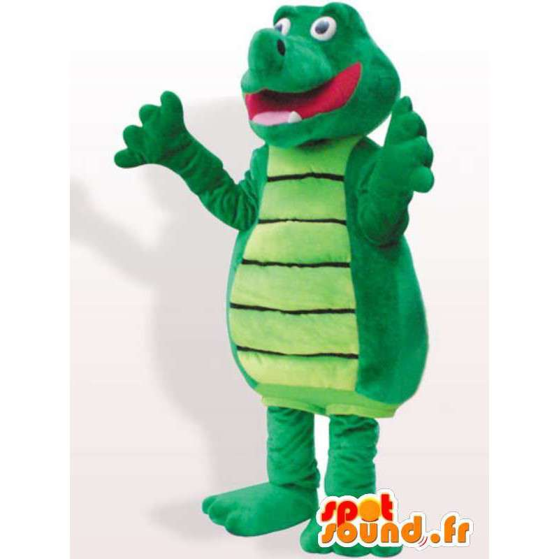 Rigoleur traje del cocodrilo - traje del cocodrilo de peluche - MASFR00933 - Mascota de cocodrilos