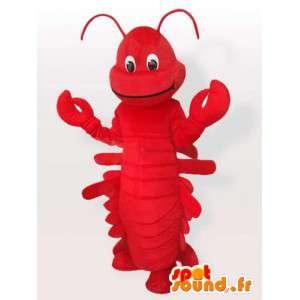 Traje de lagosta - traje crustáceo todos os tamanhos - MASFR001102 - mascotes Lobster