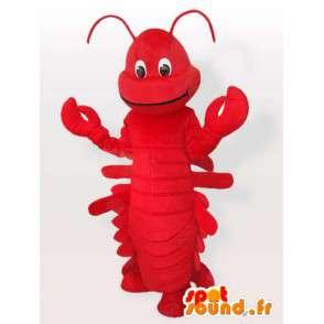 Hummer drakt - krepsdyr kostyme alle størrelser - MASFR001102 - Maskoter Lobster