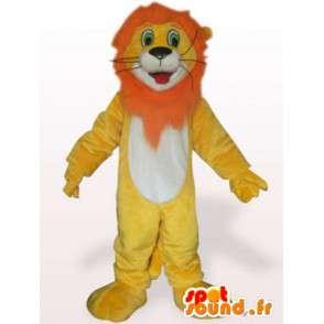Κοστούμι λιονταριού χαίτη πορτοκαλί - φορεσιά λιοντάρι - MASFR001104 - Λιοντάρι μασκότ