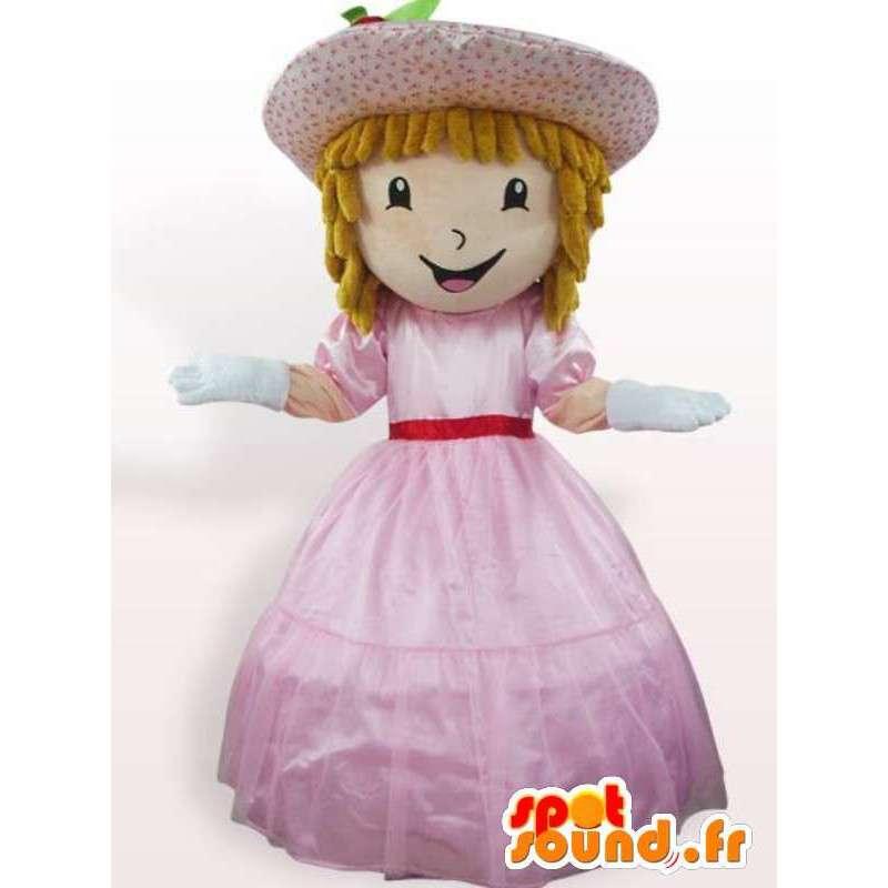 Prinzessin Kostüm mit Kleid - Kostüm mit Zubehör - MASFR00941 - Maskottchen-Fee