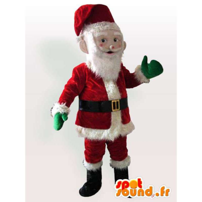 Santa Costume - Disguise kaikenkokoiset - MASFR00946 - joulun Maskotteja