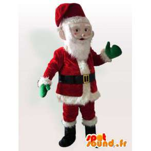 Santa Claus Costume - Costume all sizes - MASFR00946 - Christmas mascots