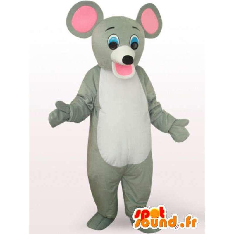 大きな耳を持つマウスの衣装 - マウスの衣装 - MASFR00937 - マウスマスコット
