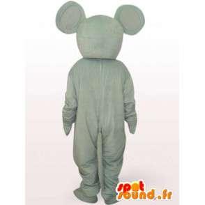Maus-Kostüm mit großen Ohren - Disguise Maus - MASFR00937 - Maus-Maskottchen