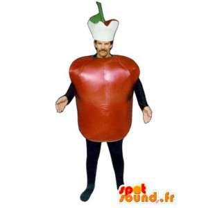 Tomaatti Costume - tomaatti puku lisävarusteilla - MASFR001107 - hedelmä Mascot