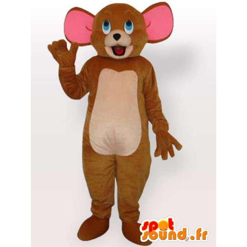 Mascot Jerry die Maus - Maus Kostüm - MASFR001159 - Maus-Maskottchen