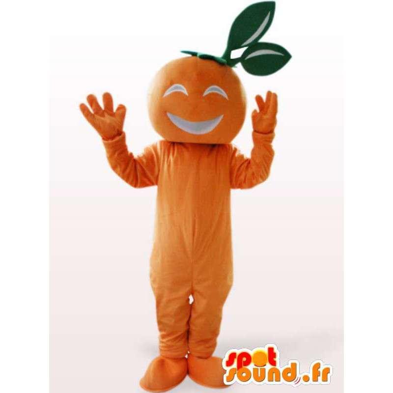 Mascot Apricot - Verschleierung Obst Orange - MASFR00947 - Obst-Maskottchen