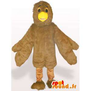 黄色いマスコット鳥のくちばし - 動物変装