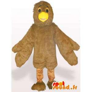 Mascotte d'oisillon au bec-jaune - Déguisement d'animal