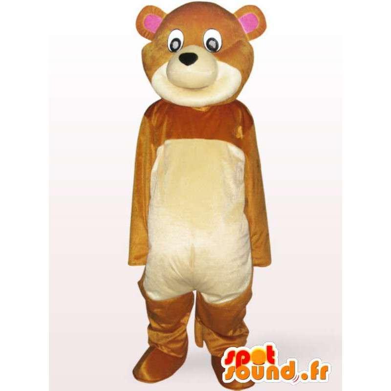 Bear Mascot Plush - Pooh kostuum komt snel - MASFR001128 - Bear Mascot
