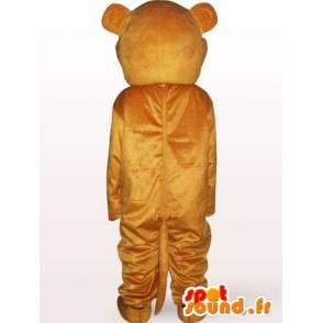 Mascot orsacchiotto - orso costume viene rapidamente - MASFR001128 - Mascotte orso