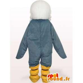 グレーイヌワシのマスコット - 猛禽類の衣装 - MASFR00973 - マスコットの鳥