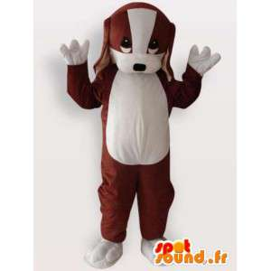 Mascot av en valp - hund drakt