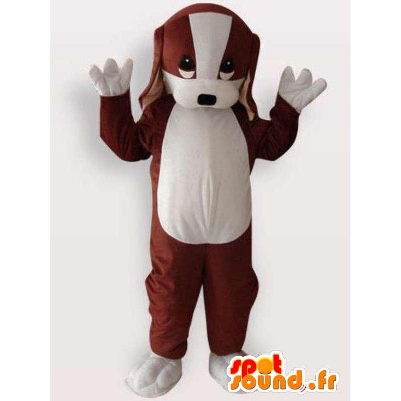Maskot štěně - pes kostým - MASFR001145 - psí Maskoti