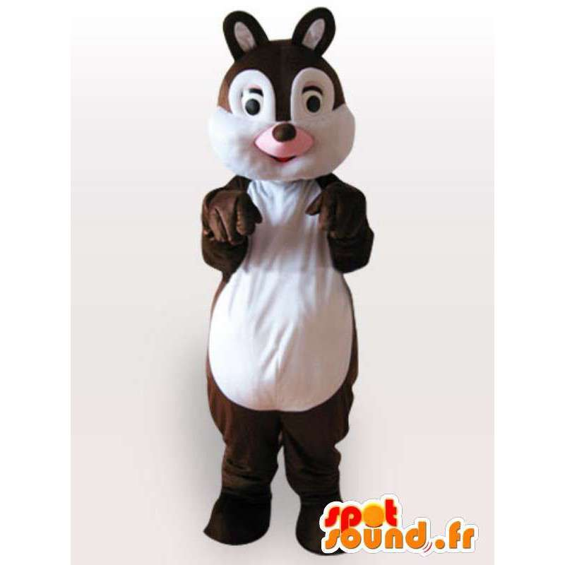 かわいいリスのマスコット - 茶色のリスの衣装 - MASFR001120 - マスコットリス