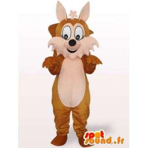 σκίουρος μασκότ - Δάσος σε ζώα μεταμφίεση