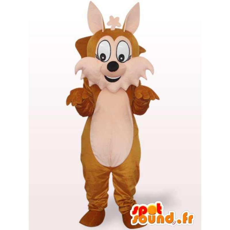 σκίουρος μασκότ - Δάσος σε ζώα μεταμφίεση - MASFR00966 - μασκότ σκίουρος