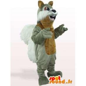 Mascotte d'écureuil gris - Déguisement d'animal des forêts - MASFR00936 - Mascottes Ecureuil