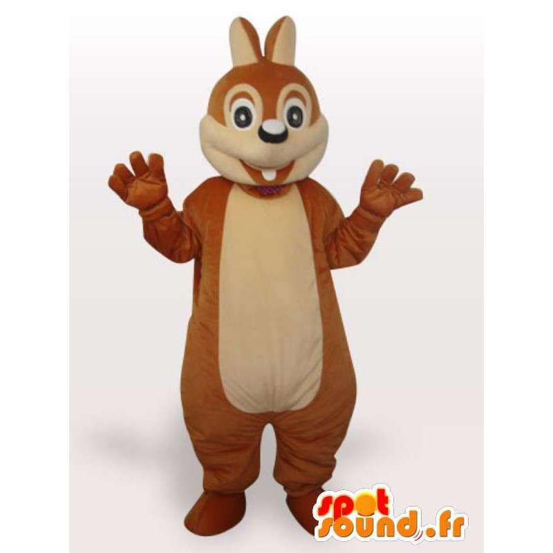 Funny squirrel mascot - Disguise stuffed squirrel - MASFR001066 - Mascots squirrel