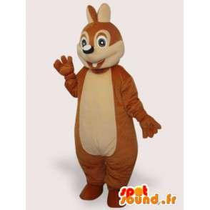 Maskotka zabawny wiewiórka - wiewiórka kostium misia - MASFR001066 - maskotki Squirrel