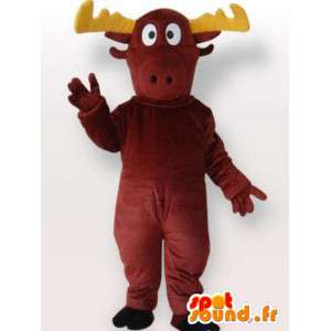 Stuffed moose mascot - Costume all sizes