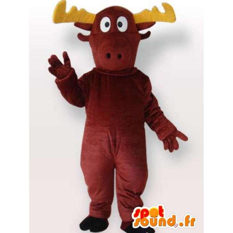 Mascot impulso de peluche - Disfraces de todos los tamaños - MASFR001074 - Ciervo de mascotas y DOE