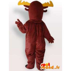 Stuffed moose mascot - Costume all sizes - MASFR001074 - Mascots stag and DOE