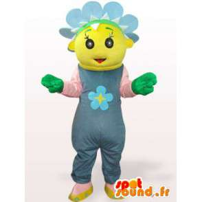 Fifi the flower mascot - Disguise plant - MASFR001126 - Mascots of plants