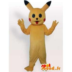 Pikachu maskot - tecknad dräkt - Spotsound maskot