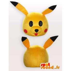 Maskottchen Pikachu - Disguise Karikatur - MASFR001151 - Pokémon-Maskottchen