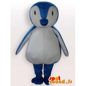 Mascote pingüim Baby - traje animal polar
