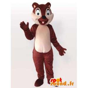 Μωρό σκίουρος μασκότ - μεταμφίεση τρωκτικών