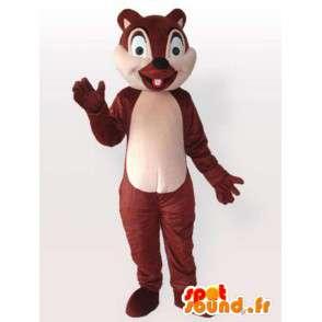 Baby-Eichhörnchen-Maskottchen - Disguise Nagetier - MASFR001139 - Maskottchen Eichhörnchen