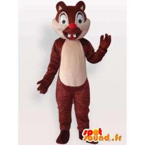 Μωρό σκίουρος μασκότ - μεταμφίεση τρωκτικών - MASFR001139 - μασκότ σκίουρος