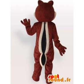 Eekhoorn van de baby mascotte - knaagdier Disguise - MASFR001139 - mascottes Squirrel