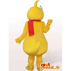 Duck Mascot met een bril - eend kostuum - MASFR001156 - Mascot eenden
