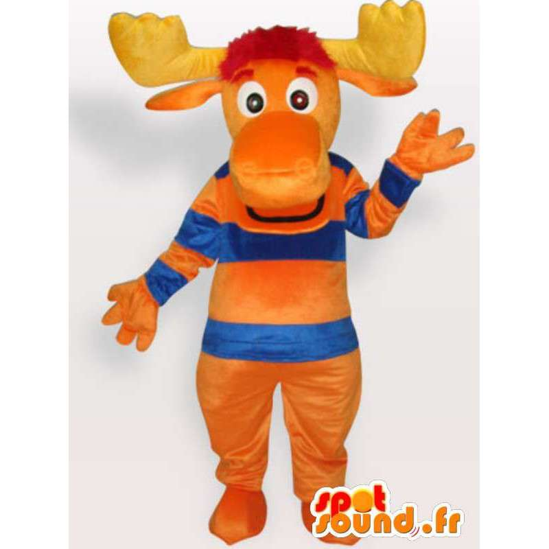 Oranssi hirvi Mascot - Pet Costume forest - MASFR001148 - Stag ja Doe Mascots