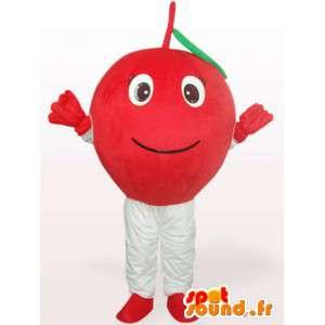 Mascot Cereza - cereza traje todos los tamaños