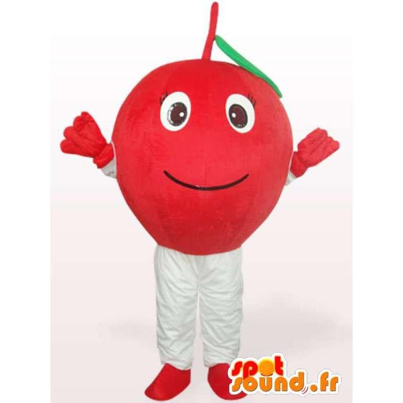 Třešeň maskot - třešeň kostým všechny velikosti - MASFR00904 - fruit Maskot