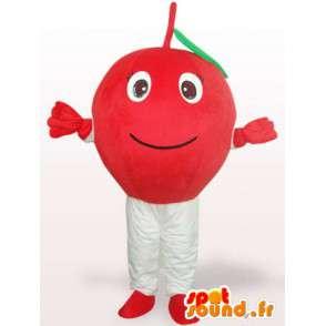 κεράσι μασκότ - κεράσι κοστούμι όλα τα μεγέθη - MASFR00904 - φρούτων μασκότ