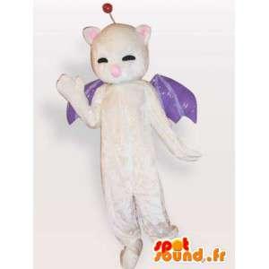 Bat mascotte - nachtdier kostuum