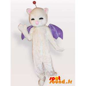 Mascot bat - costume animale notturno