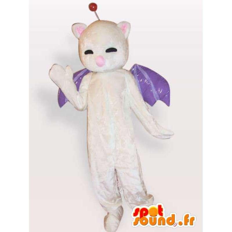 Mascot bat - nocturnal animal costume - MASFR001138 - Mouse mascot